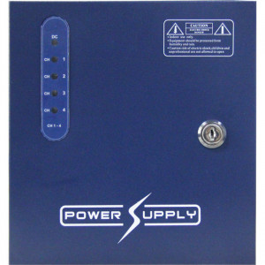 4 Way 12V DC 5A Power Supply