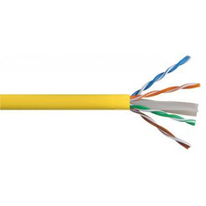 Eversure CAT6 (Yellow) Cable 305m, Pull Box With Reel