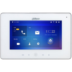 "7"" Wi-Fi Indoor Monitor White"