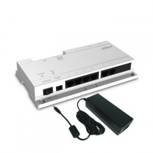 24V POE Switch for Dahua IP Intercom System with Power Supply