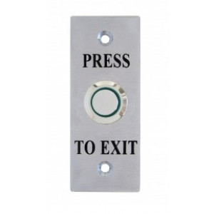 LED Illuminated Architrave Exit Button